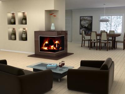 chemin e d 39 angle la chemin e dans tous ses tats sur www. Black Bedroom Furniture Sets. Home Design Ideas